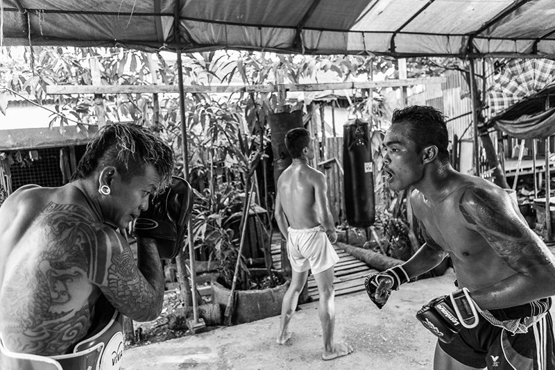 lethwei boxing camp